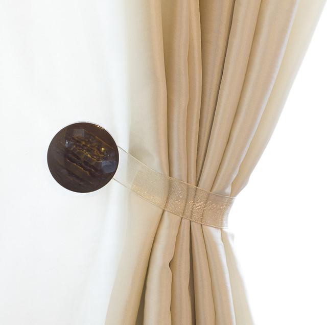 Curtain clips tiebacks or holdbacks set of 2 gem collection