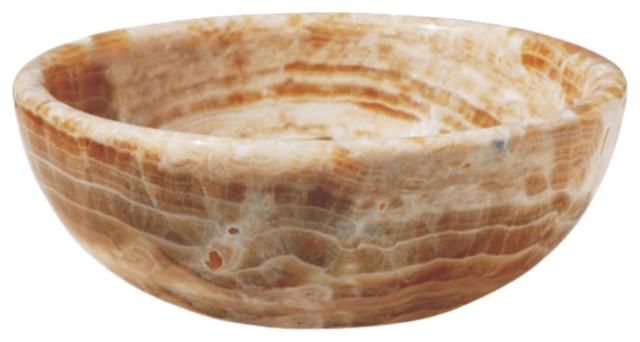 Custom Carved Natural Stone and Marble Sinks mediterranean-bathroom-sinks