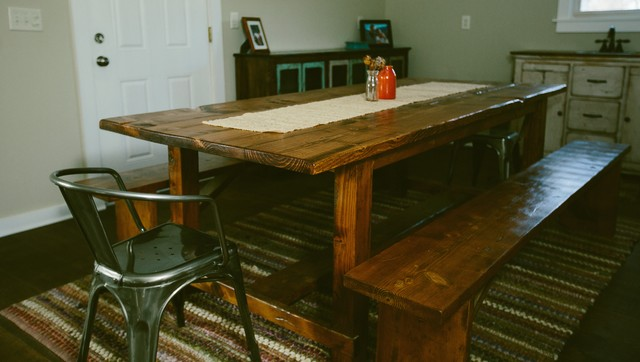 Farmhouse Table Farmhouse Dining Room Kansas City By Unruh