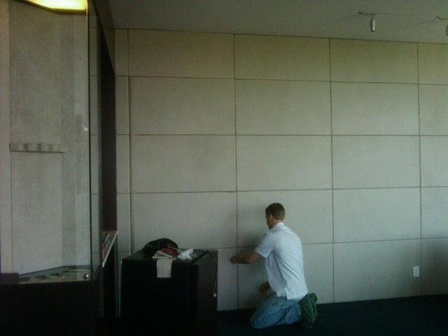 Leather Wall Paneling : Leather wall panels
