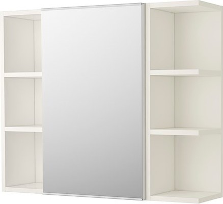 LILL NGEN Mirror Cabinet 1 Door 2 End Units Scandinavian