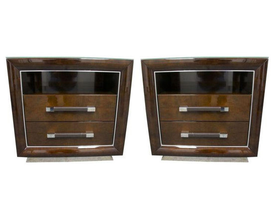 Monte Carlo Side Tables By Giorgio - A Pair - $6,250 Est. Retail - $3,798 on Cha -