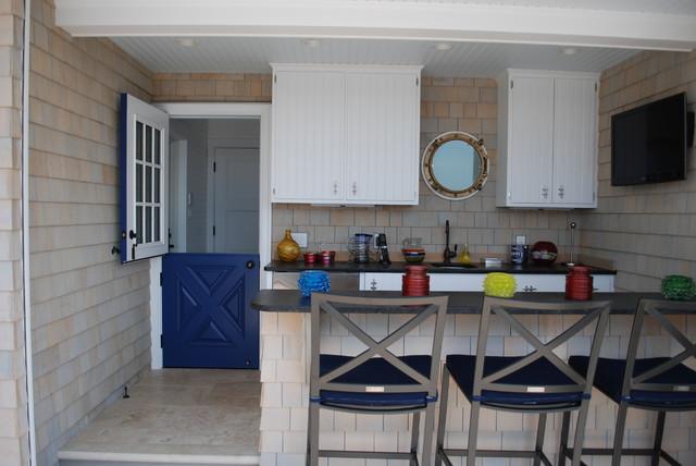 Seashore and Beach Residences beach-style-front-doors
