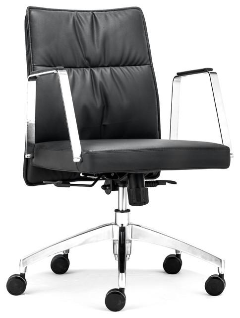 Dean Low Back Office Chair Black contemporary-task-chairs
