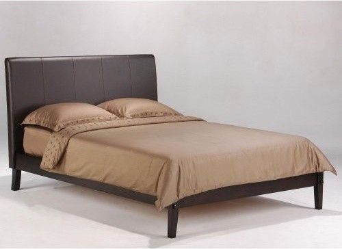 Night and Day Coriander Dark Chocolate Platform Bed contemporary-beds