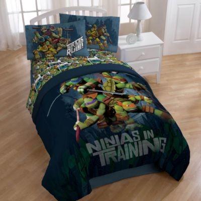 Teenage Mutant Ninja Turtles Dark Ninja Twin Full Comforter Contemporary Kids Bedding By