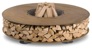 Zero Fireplace contemporary firepits