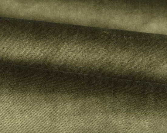 Lush Upholstery Fabric in Tarragon - Lush in Tarragon is a green upholstery fabric that is a soft, yet durable velvet with an irresistible texture. A small scale ribbing effect adds the perfect amount of detail. Ideal for upholstering sofas, chairs, or bedding and pillows. Available in a variety of current colors. Made from 100% Polyester. Fire Rating UFAC Class 1. Cal Tech Bulletin #117, SEC.E. 100,000 double rubs. 54″ wide. Additional yardage may be purchased on back-order.