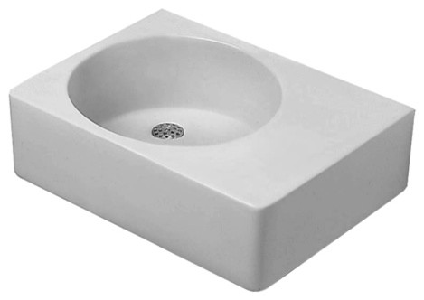 Scola Washbasins contemporary-bathroom-sinks