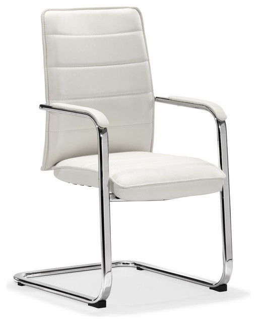 Zuo Enterprise Conference Chair in White modern-task-chairs