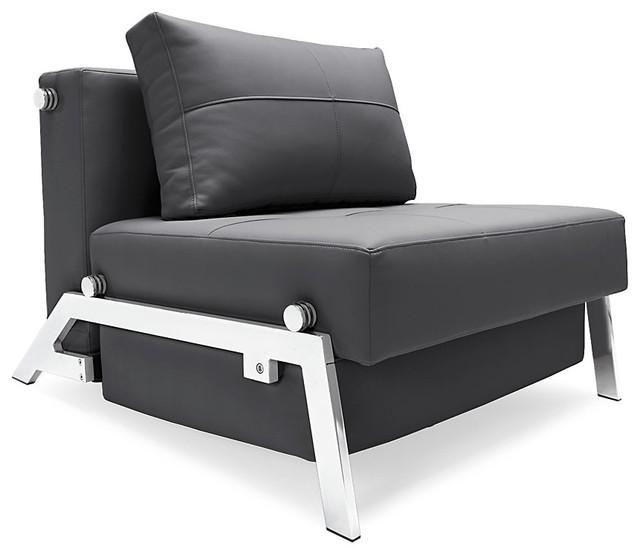 Modern Twin Sleeper Sofa: Innovation Cubed Deluxe Twin Sleeper Chair