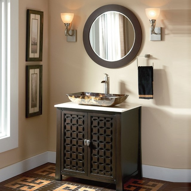 Luxury Adler White Bathroom Vanity VAN06648  Bathroom Vanities  Bath