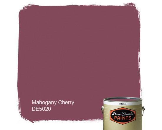Dunn-Edwards Paints Mahogany Cherry DE5020 -