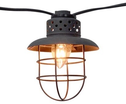 Smith And Hawken String Lights Target : Smith & Hawken Metal Cage String Lights - Contemporary - Outdoor Lighting - by Target