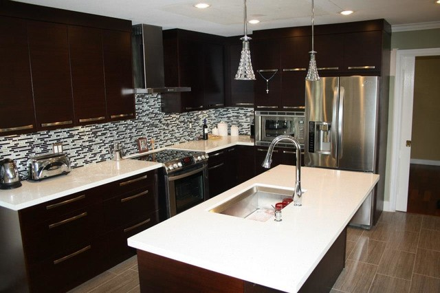 Bamboo Cabinets contemporary-kitchen-cabinets