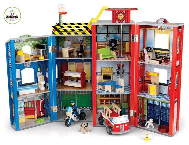Everyday Heroes Play Set by Kidkraft modern-kids-toys