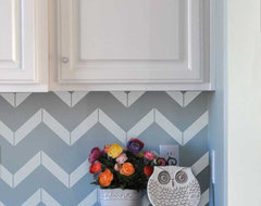 Chevron Vinyl Wall Decals by Vinyl Wall Art modern decals
