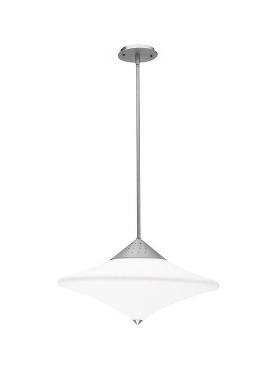 Access Lighting 50114-BS/OPL Semi-Flush or Pendant -