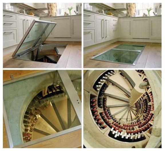 Spirall Cellars modern