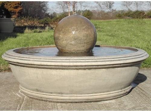 Riley Garden Fountain contemporary-outdoor-fountains