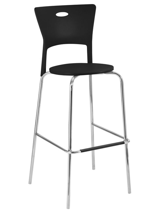 Mimi Bar Stools Stacker - BLACK
