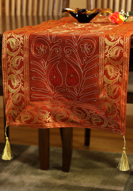 Elegant Table Runners eclectic-table-runners