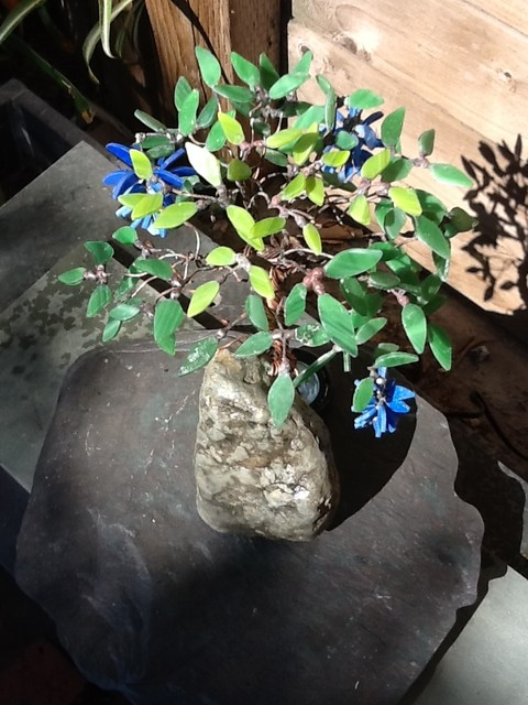 Wisteria Glass Bonsai eclectic-artwork