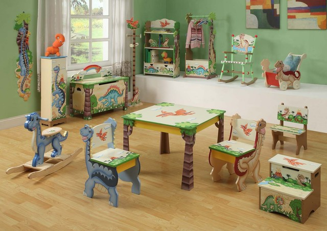 Dinosaur kingdom room collection traditional nursery decor new york by - Boys room dinosaur decor ideas ...
