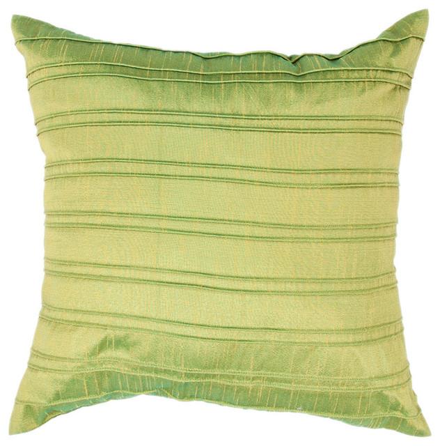 Brooklyn Pillow, Emerald Set of 2 contemporary-decorative-pillows