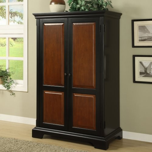 Riverside Bridgeport Computer Armoire - Traditional - Storage Cabinets - by Hayneedle