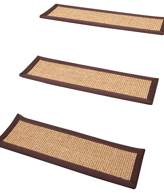 casual living carpet stair treads 100 sisal 9 x 29
