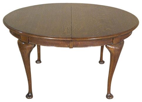 Antique English Oak Queen Anne Centre Table Traditional Side Tables And End Tables By Mbw