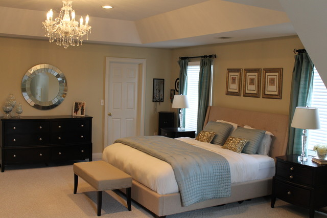 interior designs by bridget transitional bedroom
