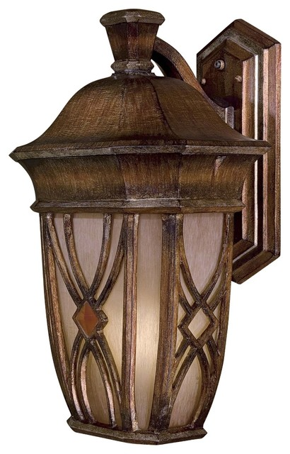 """Country - Cottage Aston Court 21"""" High Traditional Outdoor Wall Light traditional-outdoor-lighting"""