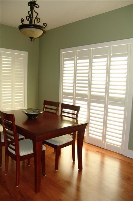 Shutters from Budget Blinds window treatments