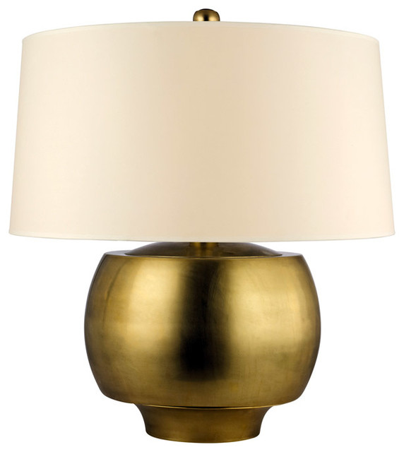 Hudson Valley Lighting L162-AGB Holden Table Lamps in Aged Brass transitional-table-lamps