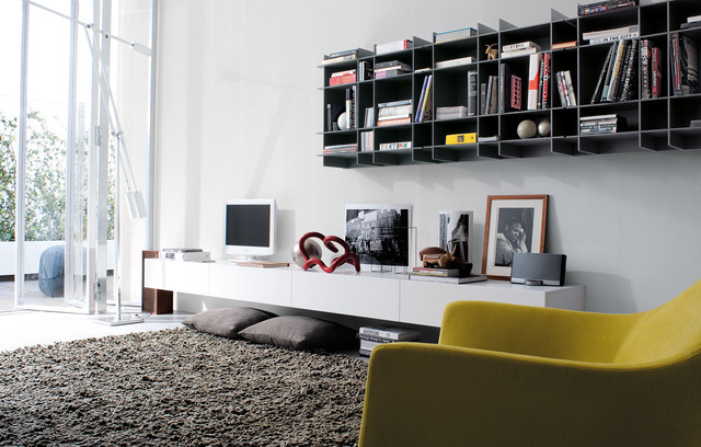 Sintesi System contemporary-display-and-wall-shelves