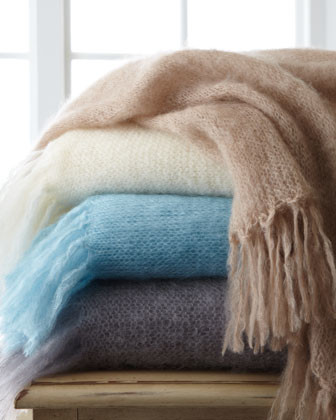 """Fringed Throw, 71"""" x 64"""" traditional-throws"""