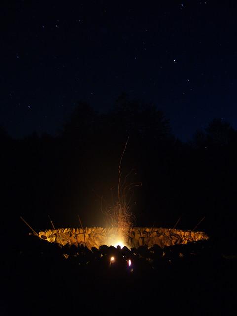 Fire Circle eclectic-landscape