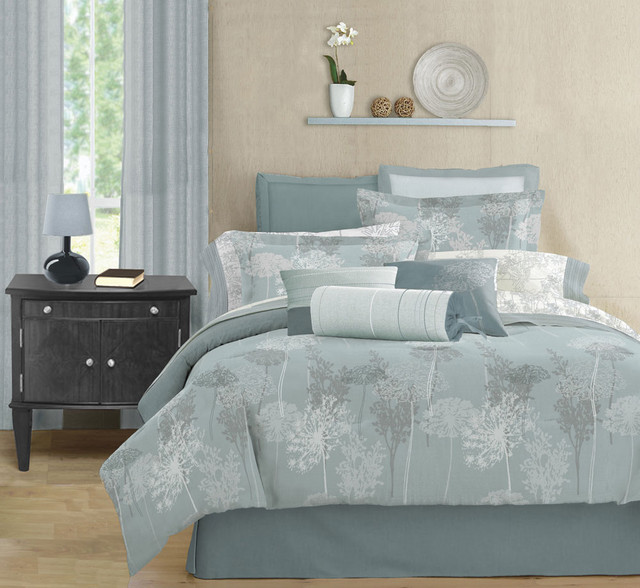 Meadows Modern Bedding Set By Lawrence Home Modern Bedding
