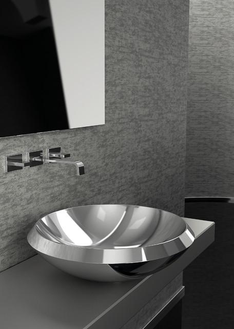 Stainless Steel Bathroom Sinks : stainless steel vessel sink - Modern - Bathroom Sinks - other metro ...