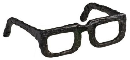 Sculptured Iron Spectacles contemporary-decorative-accents