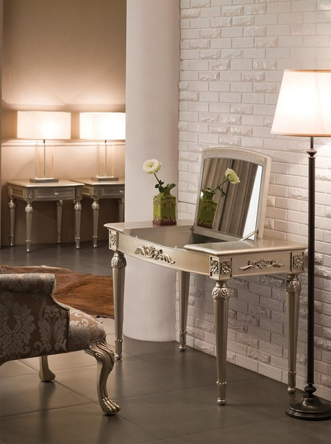 - Makeup Vanity Table, 43u0026quot;L - Modern - Bedroom u0026 Makeup Vanities ...