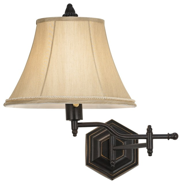 Plug In Wall Sconces Swing Arm Natural Interior Design