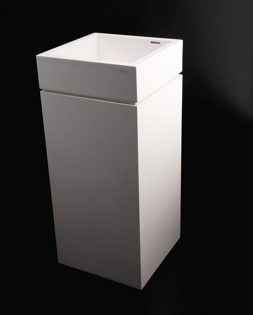 torre pedestal sink 5125p contemporary bathroom sinks by lacava