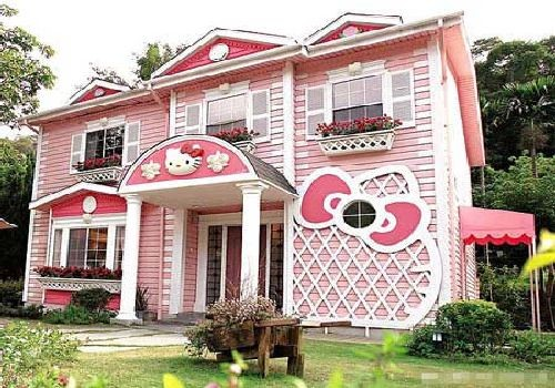 The Hello Kitty Playhouse contemporary