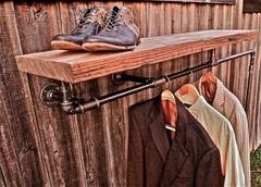 Fancy - Industrial Coat Rack