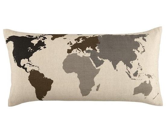 Faculty Mixer Map Throw Pillow -