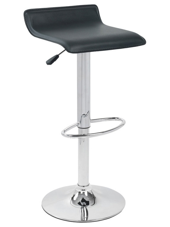 Ale Bar Stool - BLACK