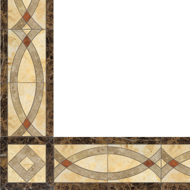 Oshkosh Designs Celina Inlay Border And Corner